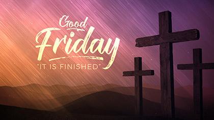 Vivid Fibers Good Friday Title