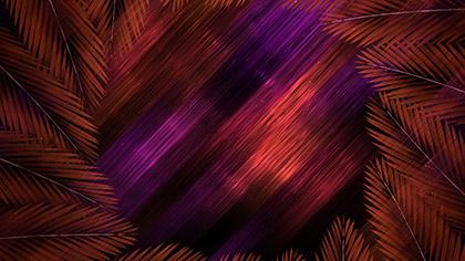 Vivid Fibers Palm Circle Dark