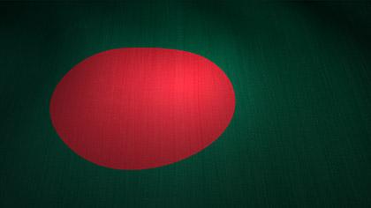 Bangladesh Flag Waving