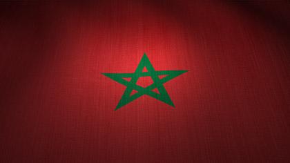 Morocco Flag Waving
