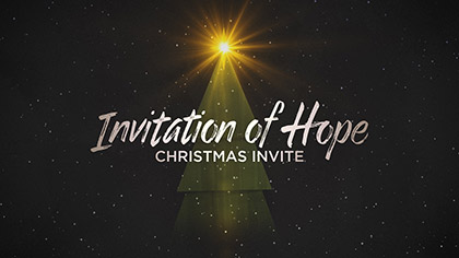Invitation Of Hope Christmas