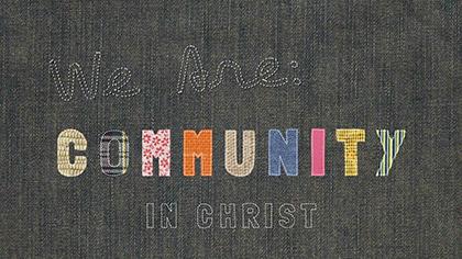 We Are Community