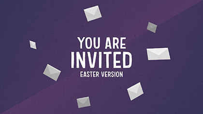 You Are Invited Easter Version