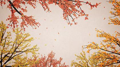 Digital Autumn Bright Sky