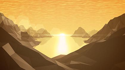 Digital Mountains Lake Valley