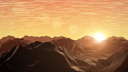 Digital Mountains Sun Range