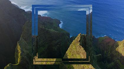 Epic Summer Aerial Tropical Islands