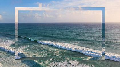 Epic Summer Aerial Vast Ocean