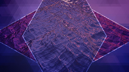 Prism Waves Purple Flight
