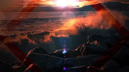 Summer Waves Crashing