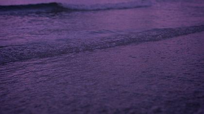 Sunset Surf Purple Pink