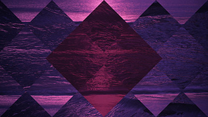 Surf Remix Purple Pink Diamonds