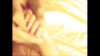 Baby Hand Gold