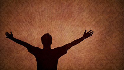 Worship Silhouette 2