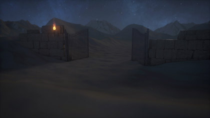 Desert Prayer Gate