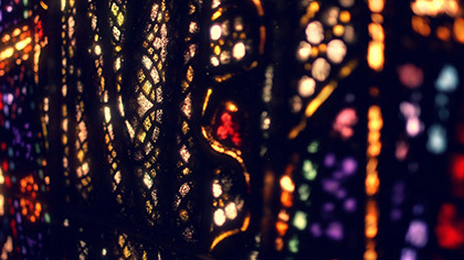 Stained Glass Multicolor