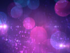 Bokeh Avalanche Purple Flares