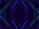 Crystalline Teal Purple Slow