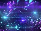 Geodesic Purple Teal Fast