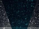 Snowglobe Ice Falls Silver Teal