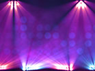 Stage Lights Purple