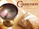 Communion Reflection Text