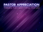 Pastor Appreciation Purple