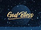 Snowglobe God Bless