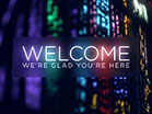 Stained Glass Welcome