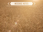 Summer Wheat Message Notes