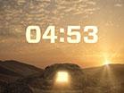 Easter Sunrise Countdown