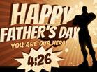 Fathers Day Superhero Countdown