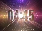 Kaleidoscopic Particles Countdown