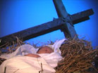 Baby Jesus Cross
