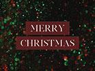 Christmas Glitter Merry Christmas