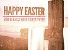 Cross Fabric Easter Closing