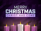 Digital Advent Merry Christmas