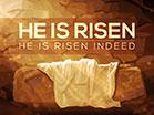 Easter Artwork He Is Risen