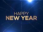 Golden Drift Happy New Year