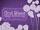 Mothers Day Art God Bless