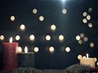 Red Green Pillar Candles