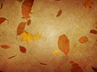 Vintage Thanksgiving Falling Leaves