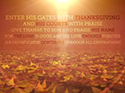 Vintage Thanksgiving Scripture