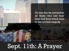 September 11th: A Prayer