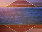 Prism Waves Rolling Sunset