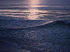 Sunset Surf Blue Gold