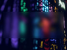 Stained Glass Colorful Lines Blur
