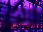 Stained Glass Purple Pink Blur