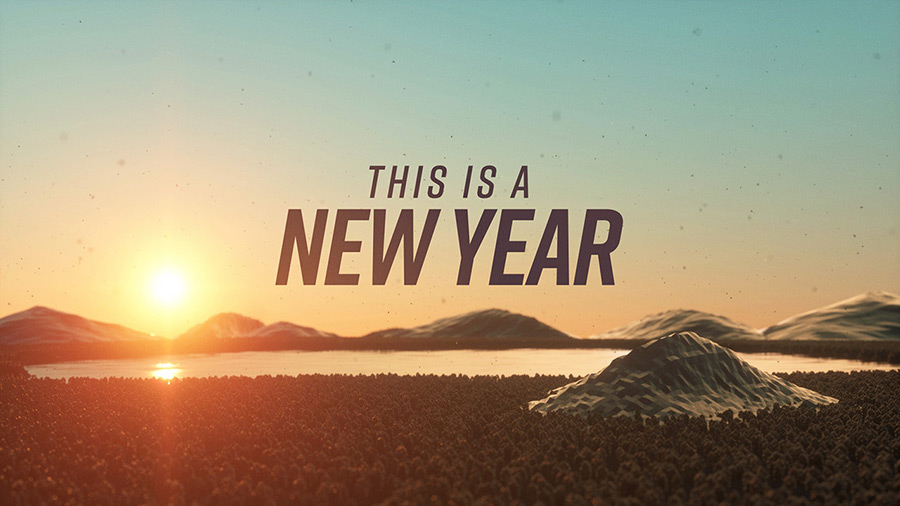 This is a New Year