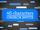 46 Characters Church Invite Video